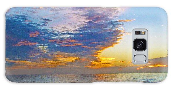 Colored Ocean Galaxy Case