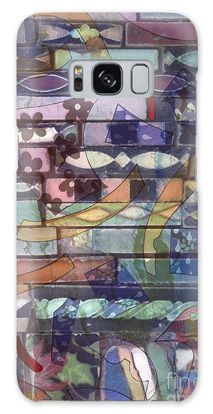 colorful abstract art photography - Brickwork Galaxy Case