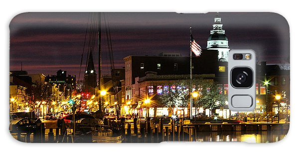 Colorful Annapolis Evening Galaxy Case
