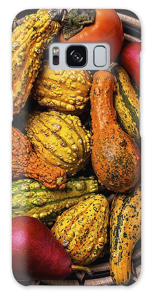 Gourd Galaxy Case - Colorful Autumn Gourds by Garry Gay