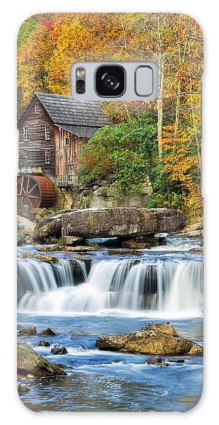 Colorful Autumn Grist Mill Galaxy Case