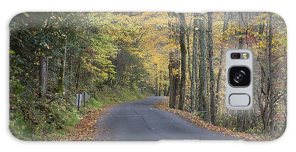 Colorful Backroads Galaxy Case