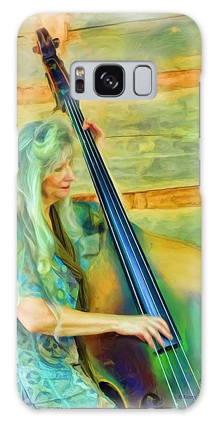Colorful Bass Fiddle Galaxy Case
