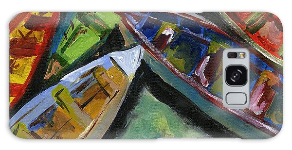 Colorful Boats Galaxy Case