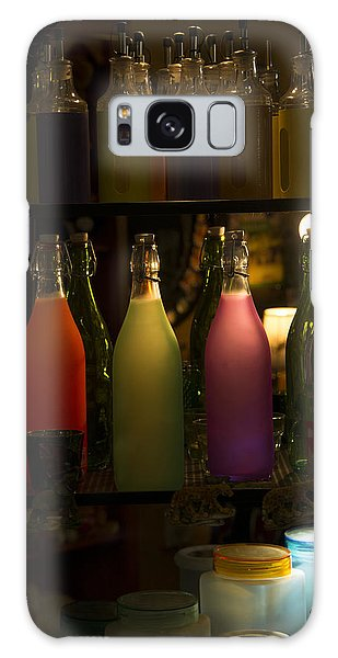 Colorful Bottle Display Galaxy Case