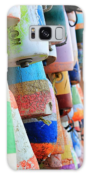 Colorful Buoys Galaxy Case