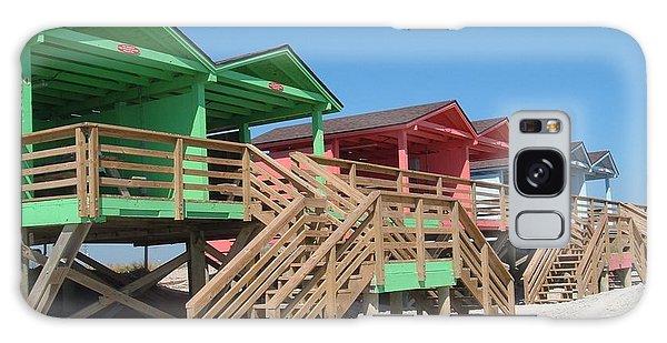 Colorful Cabanas Galaxy Case