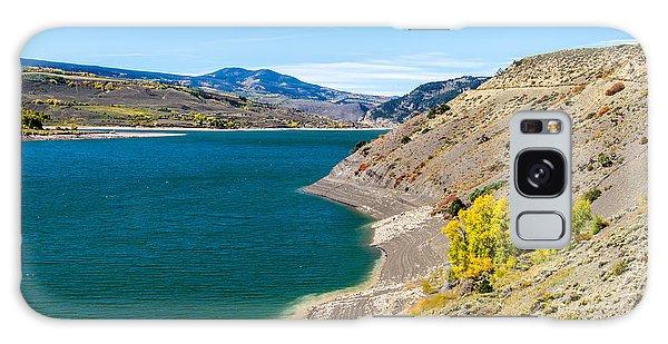 Colorful Colorado Mountain Lake  Galaxy Case