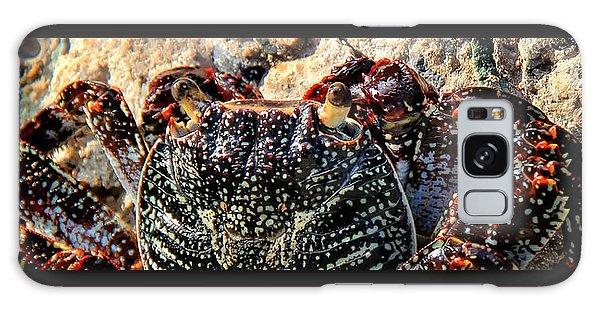 Colorful Crab Galaxy Case