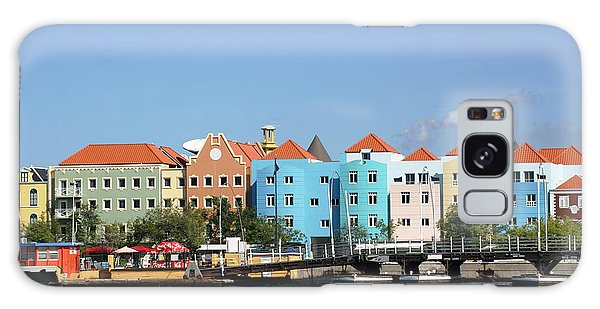 Colorful Curacao Galaxy Case by Living Color Photography Lorraine Lynch