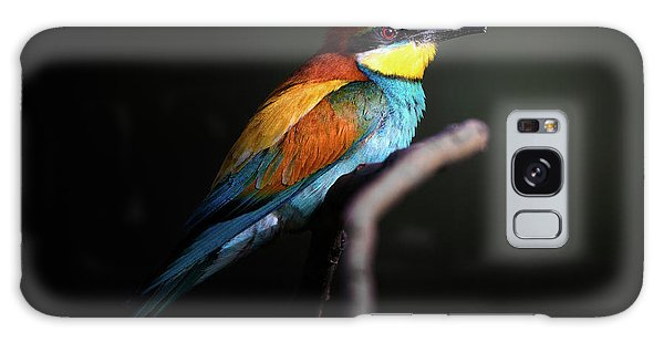 Feathers Galaxy Case - Colorful Darkly by Fegari