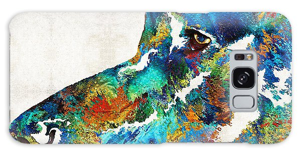 Chocolate Lab Galaxy Case - Colorful Dog Art - Loving Eyes - By Sharon Cummings  by Sharon Cummings