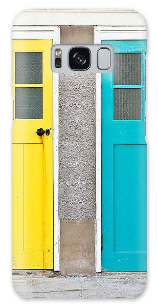 Door Galaxy Case - Colorful Doors by Tom Gowanlock