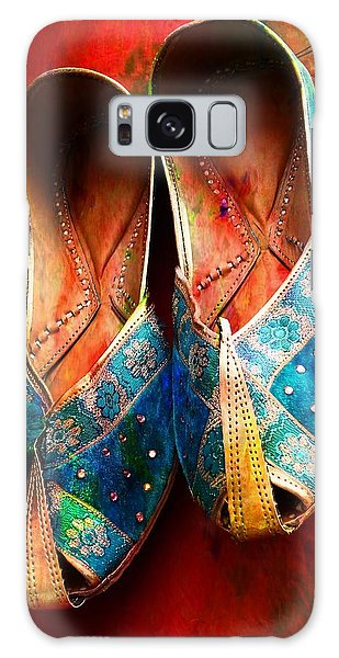 Colorful Footwear Juttis Sales Jaipur Rajasthan India Galaxy Case