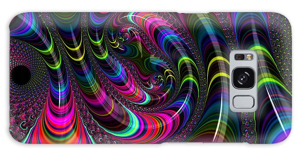 Colorful Fractal Art Galaxy Case