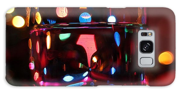 Colorful Glass Bokeh Galaxy Case