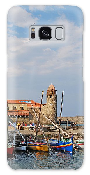 Colorful Harbour Galaxy Case