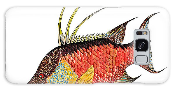 Colorful Hogfish Galaxy Case