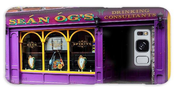 Colorful Irish Pub Galaxy Case