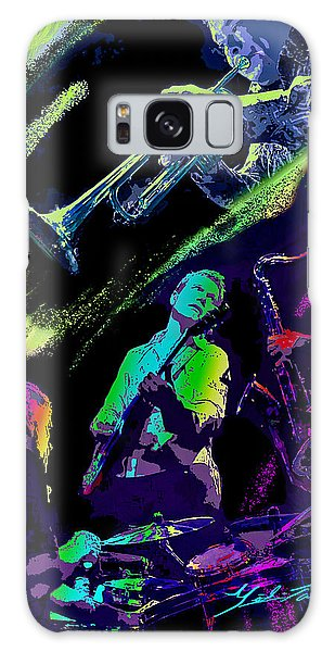 Colorful Jazz Galaxy Case