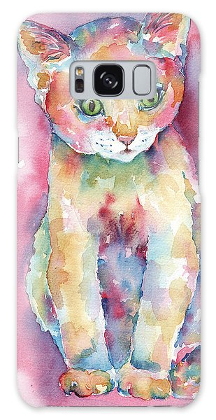 Colorful Kitten Galaxy Case
