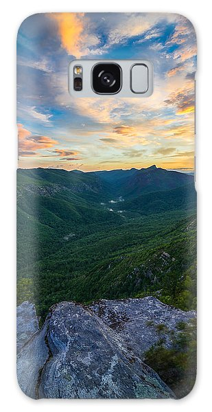 Colorful Linville Sunrise Galaxy Case by Serge Skiba
