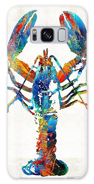 Florida Galaxy Case - Colorful Lobster Art By Sharon Cummings by Sharon Cummings