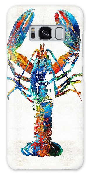 Colorful Lobster Art By Sharon Cummings Galaxy Case by Sharon Cummings