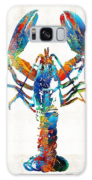 Seashore Galaxy Case - Colorful Lobster Art By Sharon Cummings by Sharon Cummings