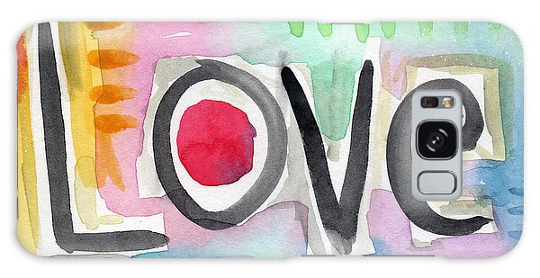 Colorful Love- Painting Galaxy Case