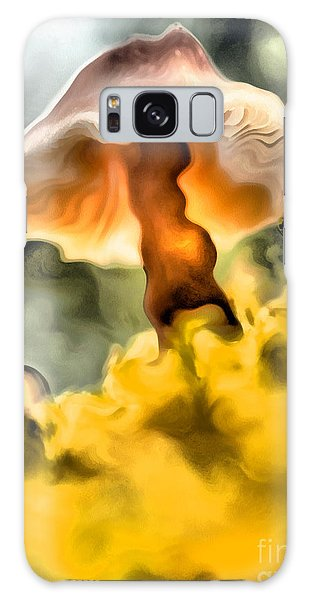 Colorful Mushroom Galaxy Case by Odon Czintos