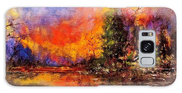 Colorful Night.. Galaxy Case by Cristina Mihailescu