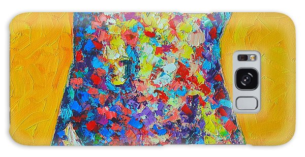 Colorful Nude  Galaxy Case