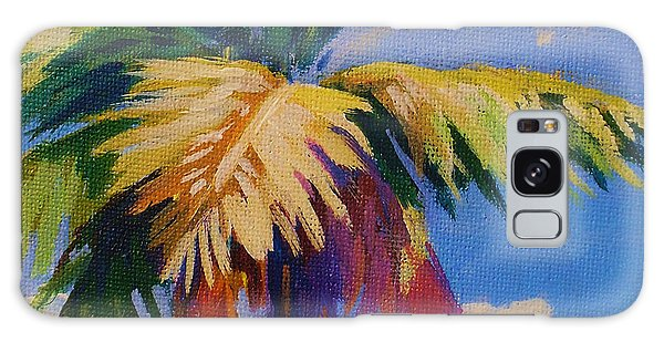 Tree Galaxy Case - Colorful Palm by John Clark