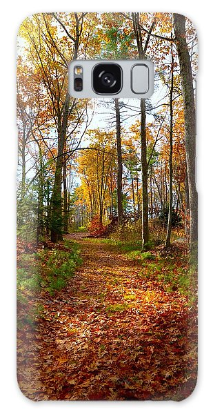Colorful Path Galaxy Case