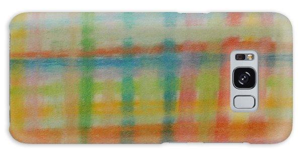 Colorful Plaid Galaxy Case