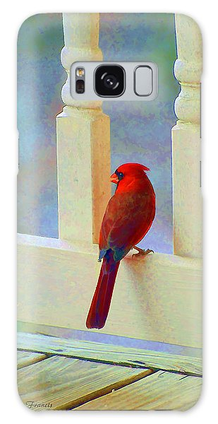 Colorful Redbird Galaxy Case by Kenny Francis