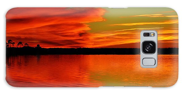 Colorful Reflecting Clouds Galaxy Case by William Bartholomew