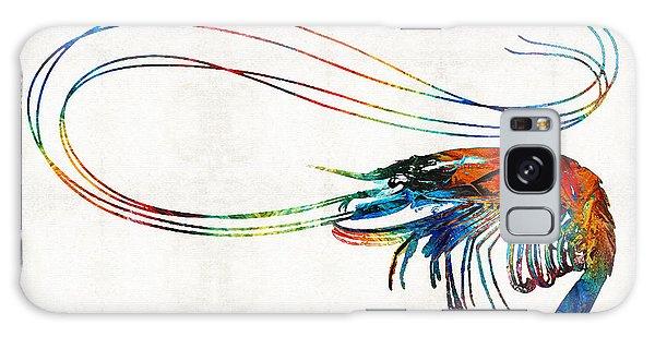 Scuba Diving Galaxy Case - Colorful Shrimp Art By Sharon Cummings by Sharon Cummings