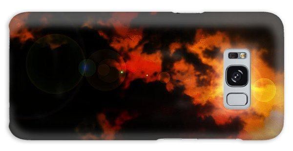Colorful Sky Galaxy Case by Persephone Artworks