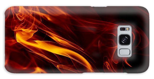 Colorful Smoke Trails Galaxy Case