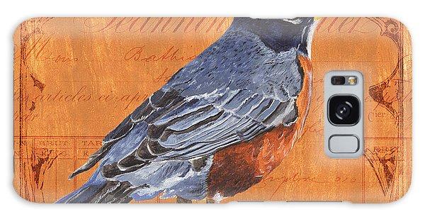 Song Bird Galaxy Case - Colorful Songbirds 2 by Debbie DeWitt