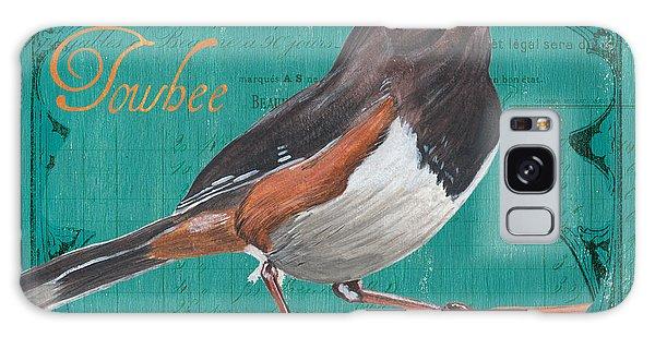 Song Bird Galaxy Case - Colorful Songbirds 3 by Debbie DeWitt