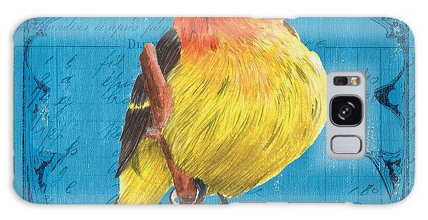 Song Bird Galaxy Case - Colorful Songbirds 4 by Debbie DeWitt