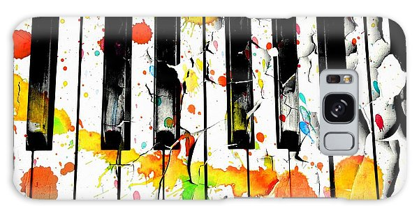 Galaxy Case featuring the photograph Colorful Sound by Aaron Berg