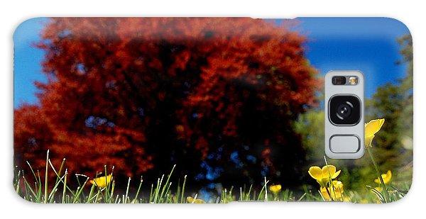Colorful Spring Galaxy Case
