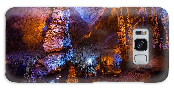 Colorful Stalactite Cave Galaxy Case