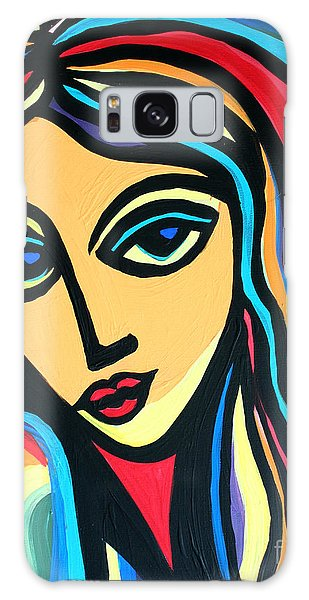 Colorful Stare Galaxy Case by Cynthia Snyder
