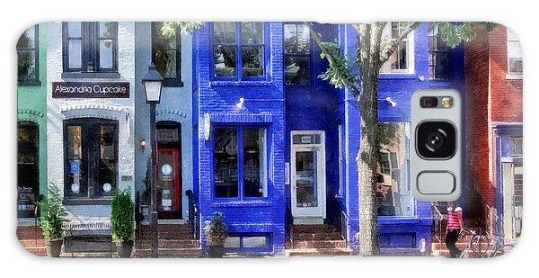 Alexandria Va - Colorful Street Galaxy Case