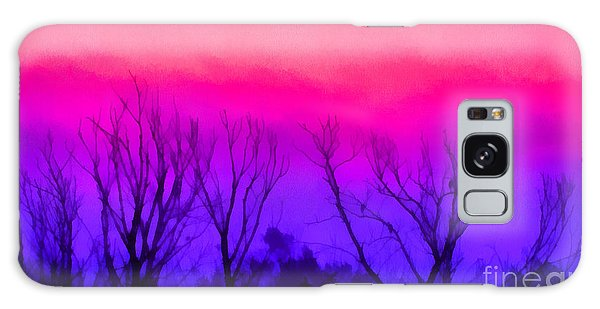 Colorful Sunrise Galaxy Case by Odon Czintos